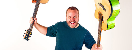 Live im Scala Club am 7.2.2015: Andy McKee